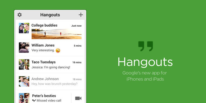 Google Hangout For PC v2020.803.419.1 [100% Working]