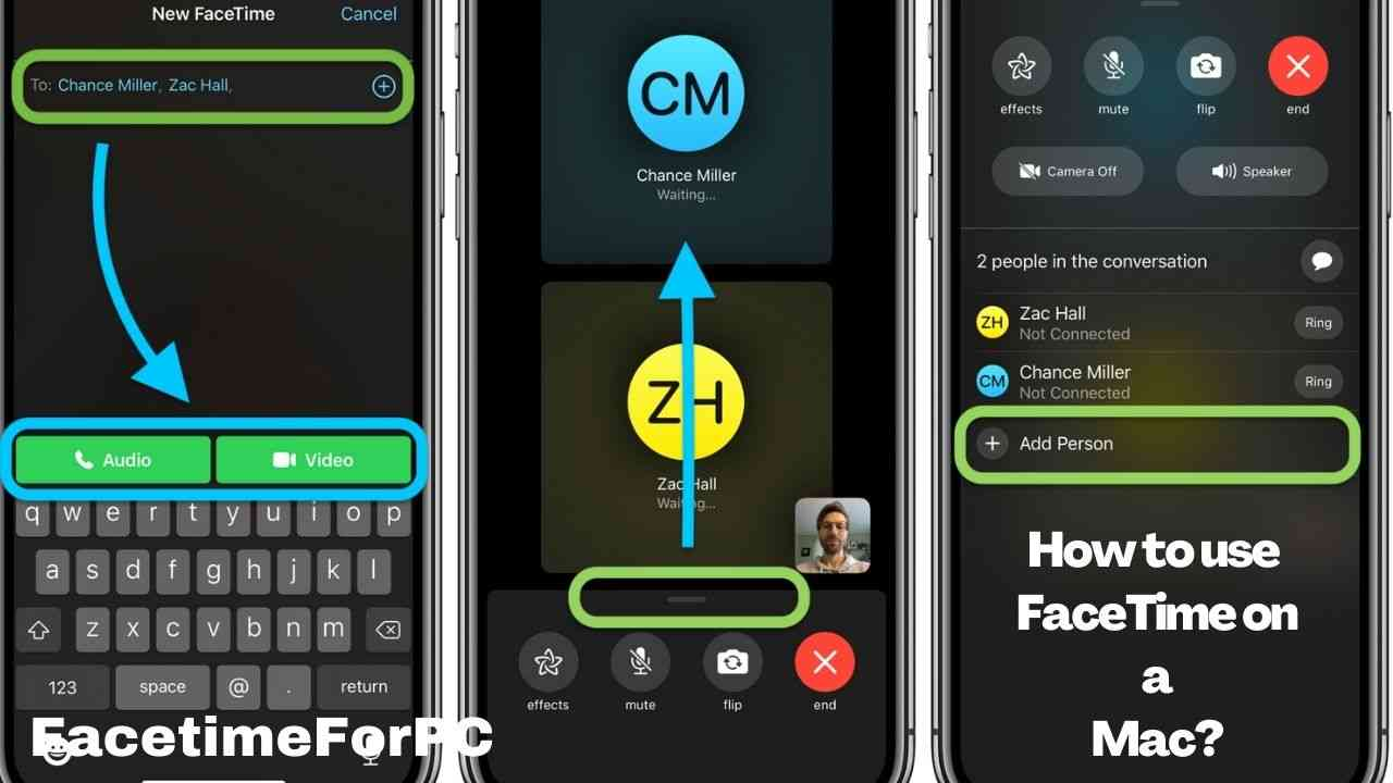 How to use FaceTime on a Mac?
